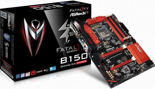 ASRock Fatal1ty B150 Gaming K4Hyper