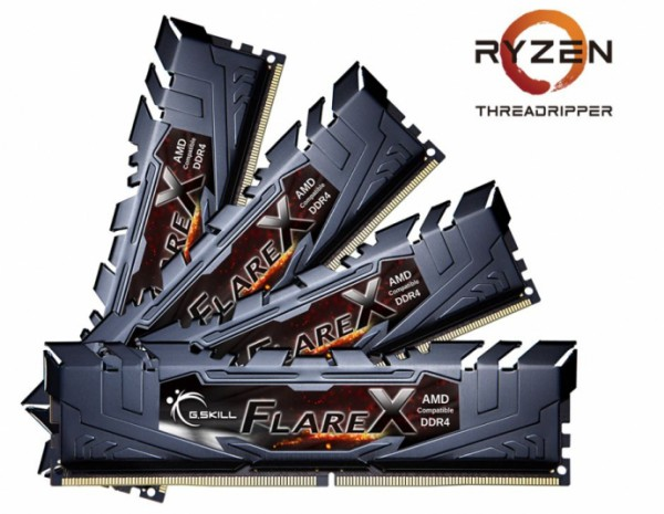 G.Skill Flare X DDR4 «Ryzen Threadripper Ready»