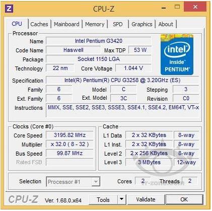 Pentium G3258
