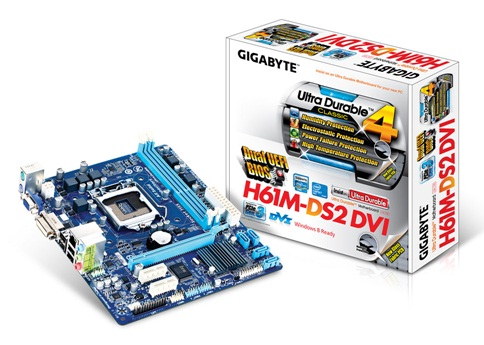 Gigabyte GA-H61M-DS2 DVI