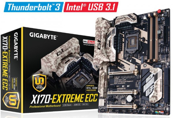 Gigabyte GA-X170-EXTREME ECC
