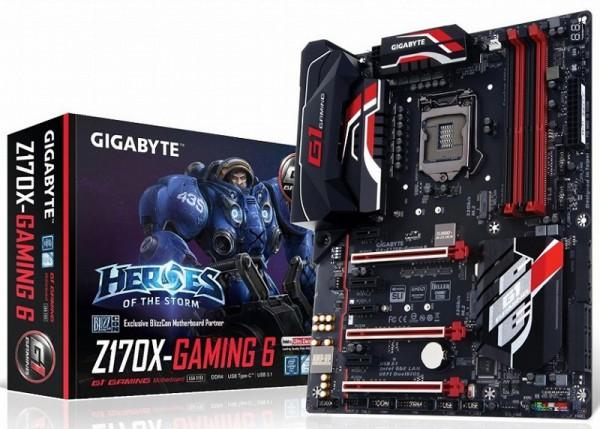 Gigabyte GA-Z170X-Gaming 6