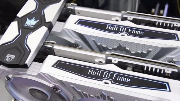 GALAX GeForce GTX 1070 Ti HOF