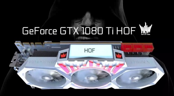 Galax GeForce GTX 1080 Ti HOF