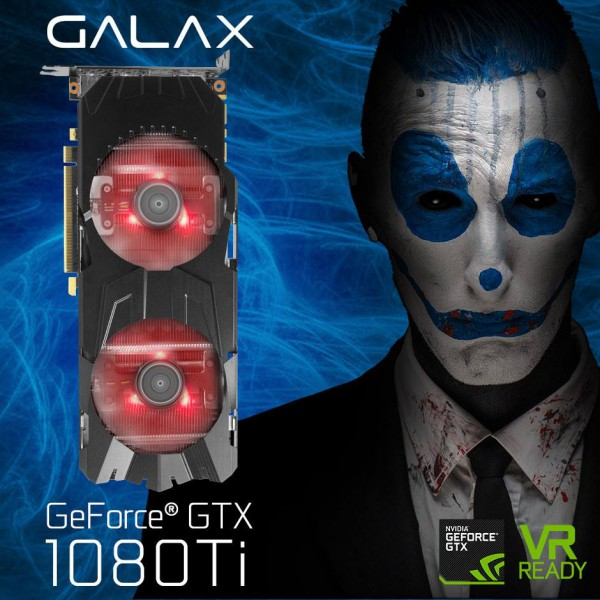 Galax GeForce GTX 1080 Ti EXOC