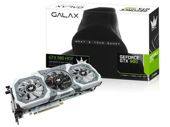 GALAX GeForce GTX 980 HOF