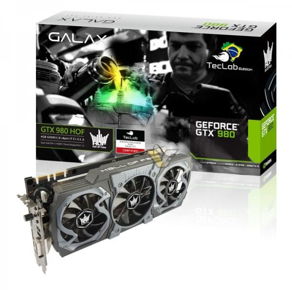 Galax GTX 980 HOF TecLab Edition