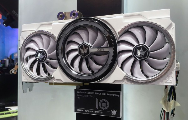 GALAX GeForce RTX 2080 Ti HOF 10th Anniversary