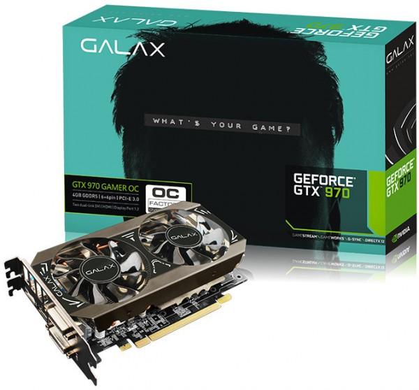 GALAX GeForce GTX 970 Black Edition