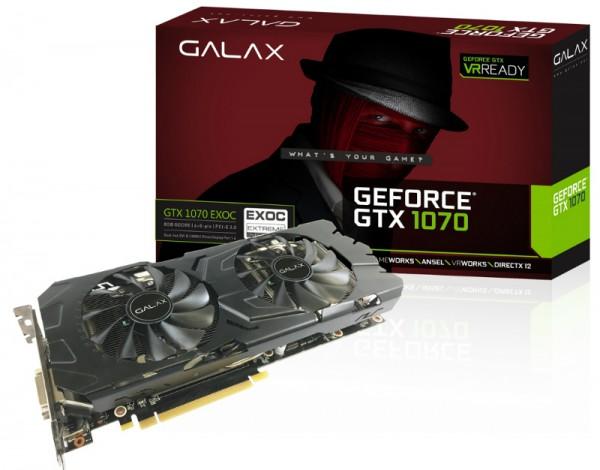 GALAX GeForce GTX 1070 EXOC (GF PGTX1070-EXOC  8GD5)