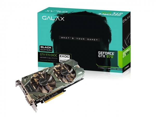 GALAX GeForce GTX 970 EXOC Black Edition 4GB