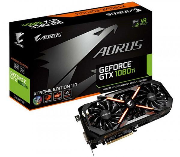 Gigabyte GeForce GTX 1080 Ti AORUS Extreme Edition 11G