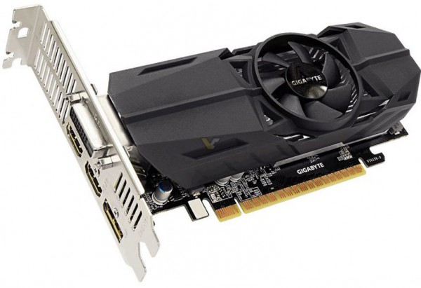 Gigabyte GeForce GTX 1050 3GB OC Low Profile