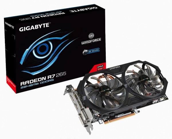 Gigabyte Radeon R7 265 ОС