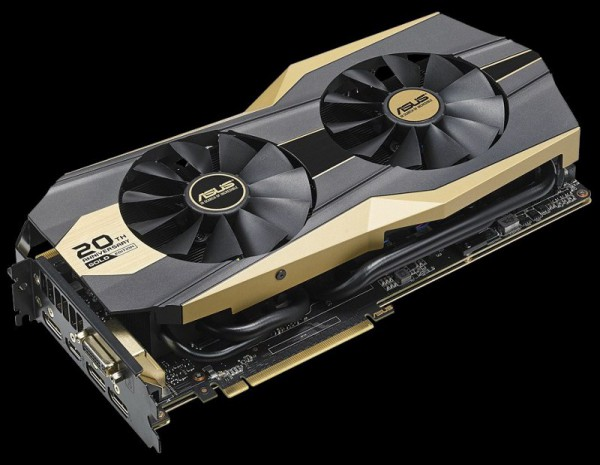ASUS GeForce GTX 980 Ti 20th Anniversary Gold Edition (GOLD20TH-GTX980TI-P-6GD5-GAMING)