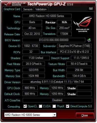 GPU-Z 0.5.6