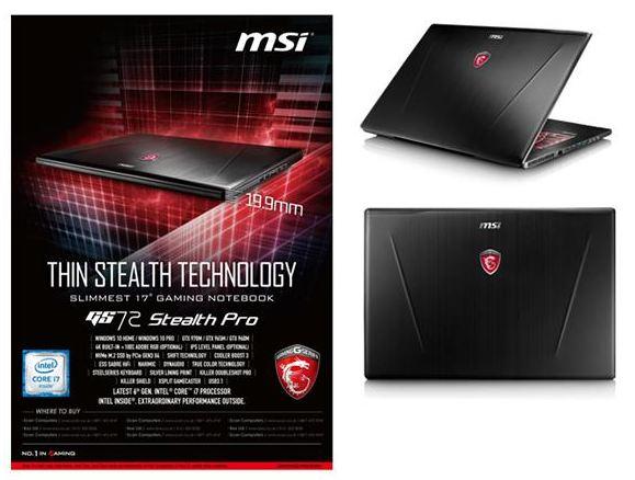MSI GS72
