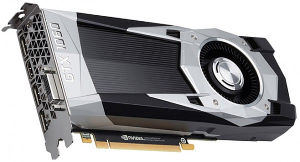 GeForce GTX 1060 3GB GP104