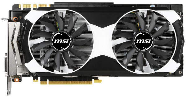 MSI GeForce GTX 980 Ti Armor X2 OC