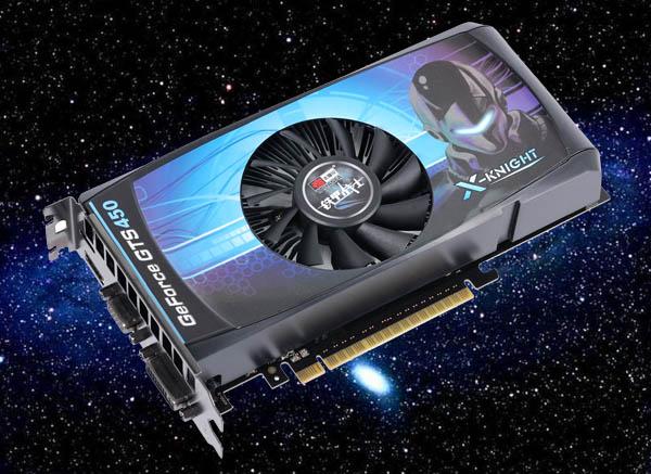 Видеокарта TAIYANGF GeForce GTS 450 512 MБ