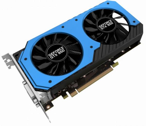 Palit GeForce GTX 950 StormX Dual (NE5X950S1041-2063F 2GB) LoVA