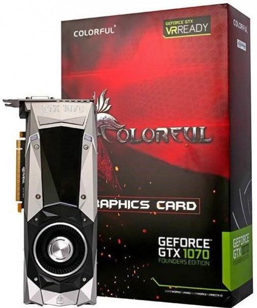 GTX 1070-8G Founders Edition