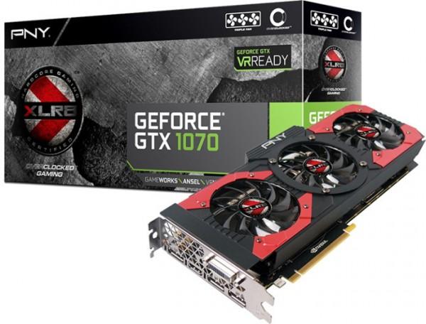 PNY GeForce GTX 1070 8GB XLR8