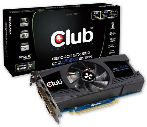 3D Club GeForce GTX 560 CoolStream Edition