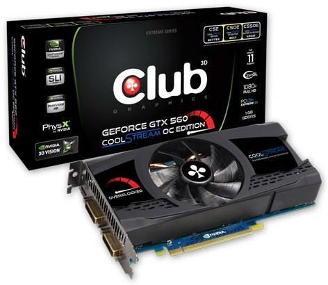 3D Club GeForce GTX 560 CoolStream Edition OC