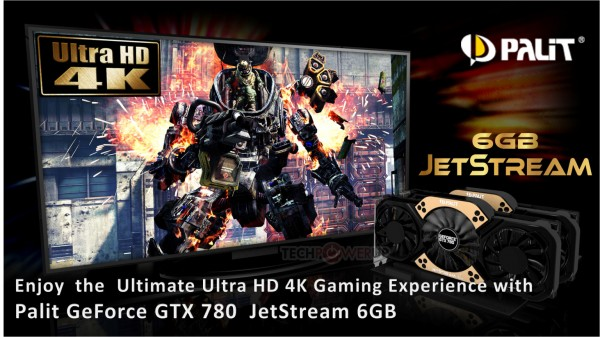 Palit GeForce GTX 780 6 Gb JetStream