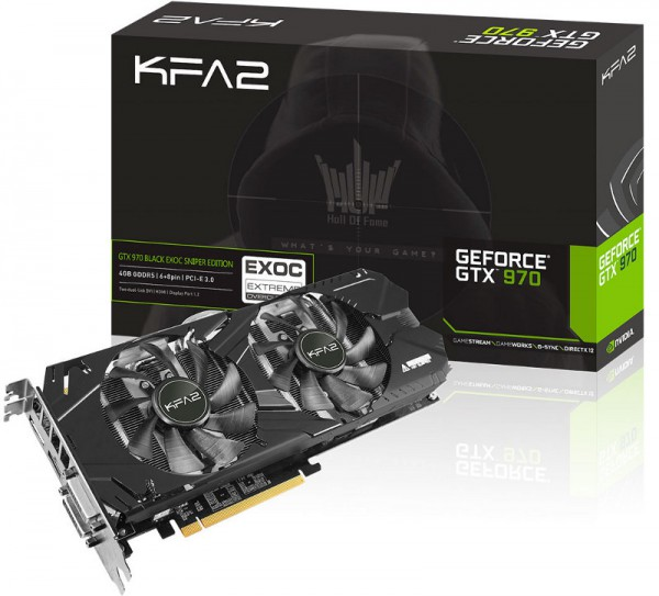KFA2 GeForce GTX 970 EXOC Sniper Edition