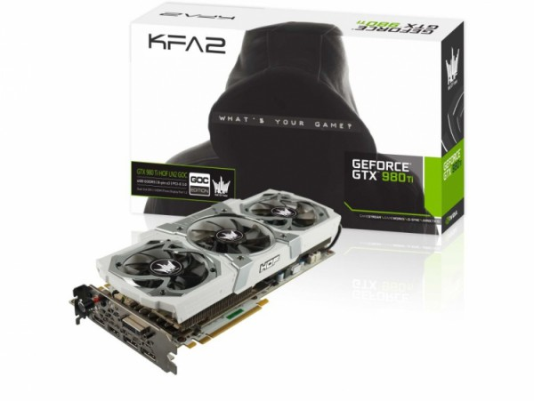 GALAX GeForce GTX 980 Ti HOF LN2 GOC Edition