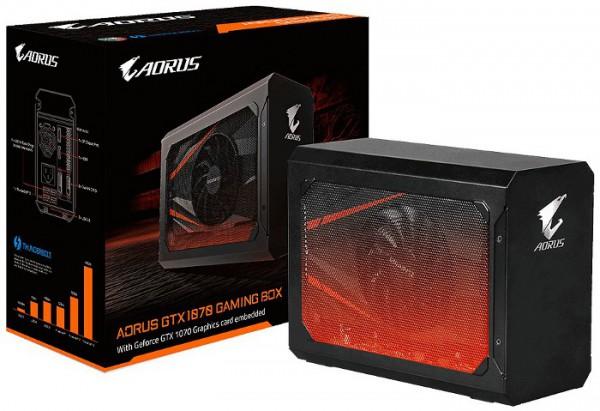 Gigabyte, AORUS GTX 1070 Gaming Box, GV-N1070IXEB-8GD