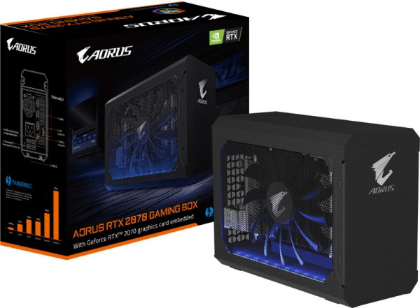 Gigabite AORUS RTX 2070 GAMING BOX