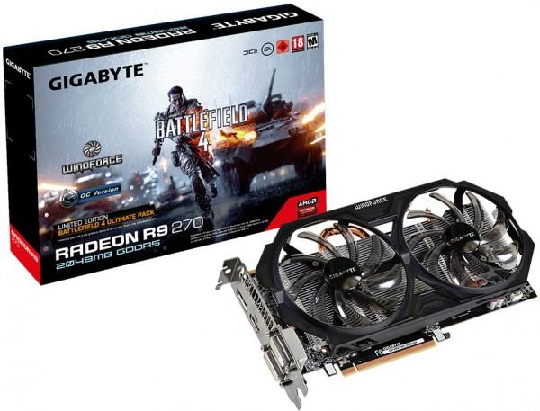 Gigabyte Radeon R9 270 GV-R927OC-2GD-GA
