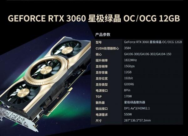 Gainward GeForce RTX 3060, GA104