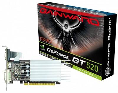 Gainward GeForce GT 520 1024 MB SilentFX