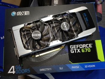 Galaxy GeForce GTX 670 GC Edition