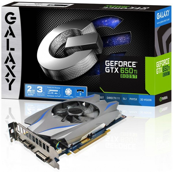 Galaxy GeForce GTX 650 Ti Boost