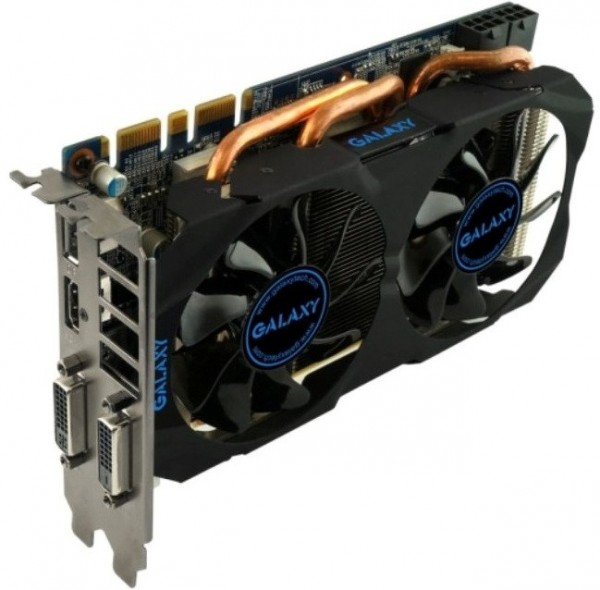Galaxy GeForce GTX 760 Mini (GF PGTX760-OC2GD5 MINI)