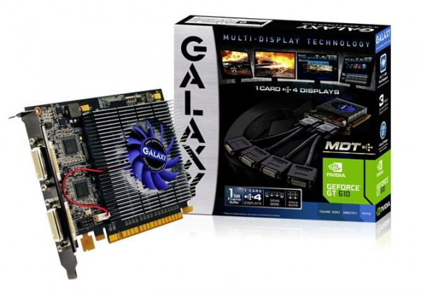 Galaxy GeForce GT 610 MDT