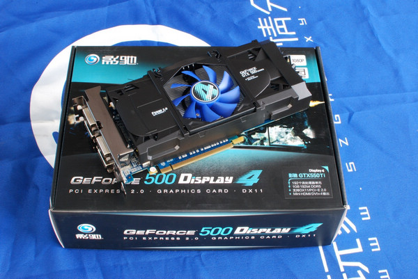 Galaxy GeForce GTX 550 Ti Display4