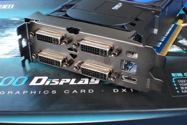 Galaxy GeForce GTX 550 Ti Display4