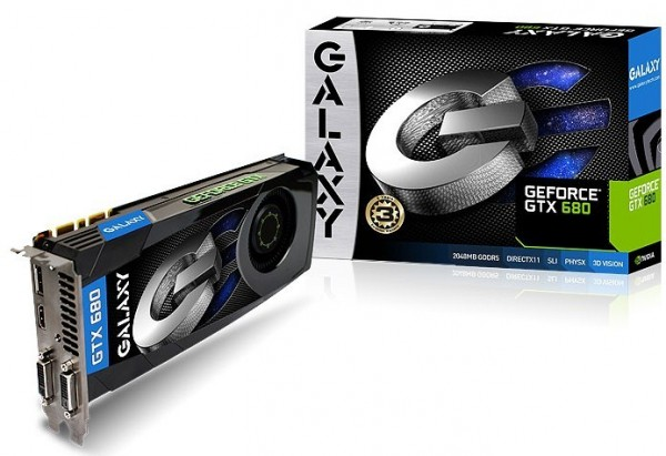 Galaxy, GeForce, GTX 680