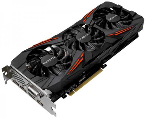 Gigabyte, GeForce GTX 1070 G1 GAMING, GV-N1070G1 GAMING-8GD rev2