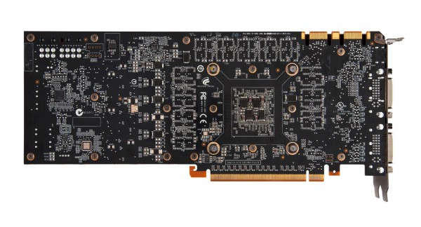 GeForce GTX 580 back view