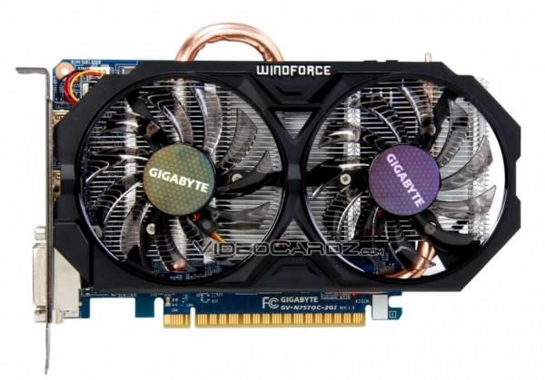 Gigabyte GeForce GTX 750 Ti OC (GV-N75TOC-2GI)