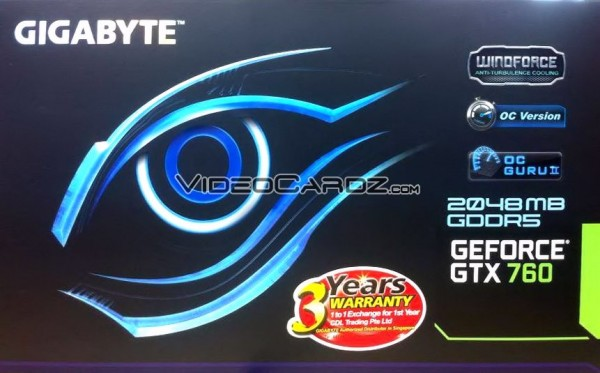 Gigabyte GeForce GTX 760 WindForce