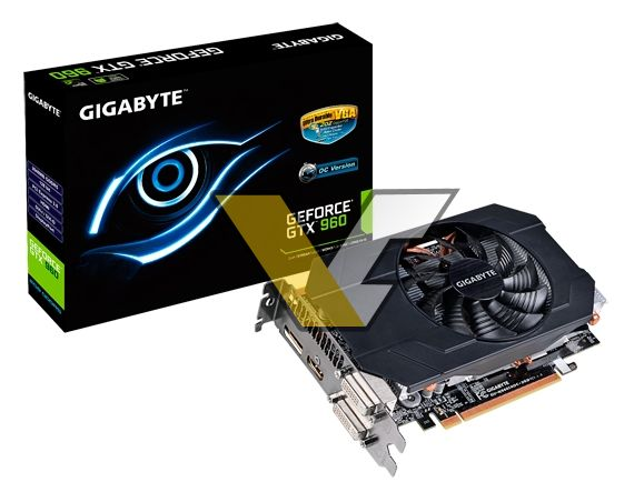 Gigabyte GeForce GTX 960 Mini-ITX (GV-N960IXOC-2GD)