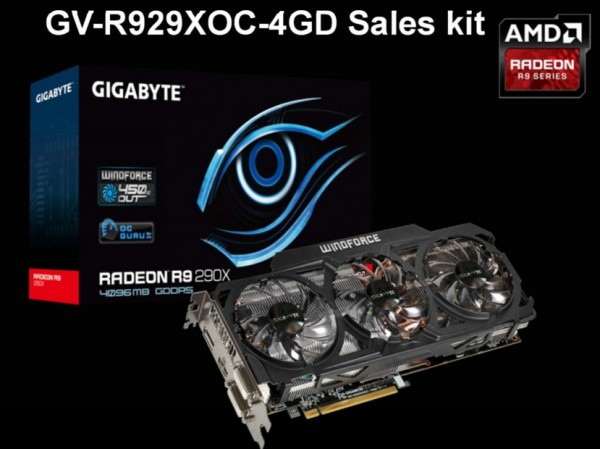 Gigabyte Radeon R9 290X OC (GV-R929XOC-4GD)